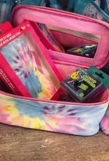 Iscream Pastel Tie Dye Cosmetic Case