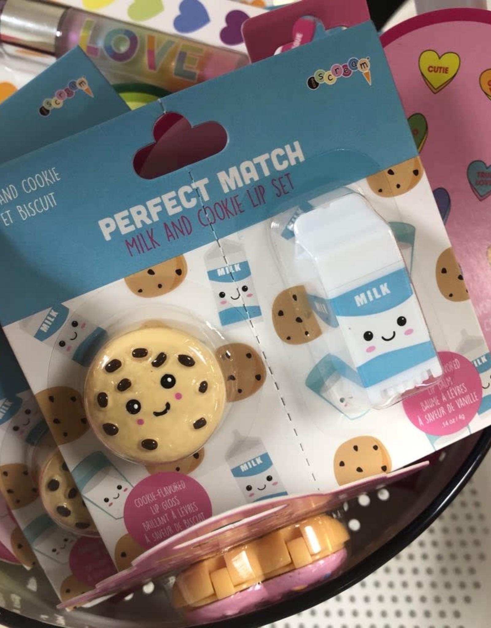 Iscream Cookies and Milk Lip Set