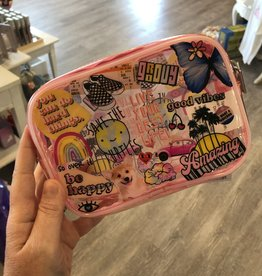 VSCO Small Clear Cosmetic Bag