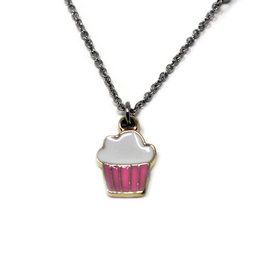 Zomi Gems Cupcake Necklace