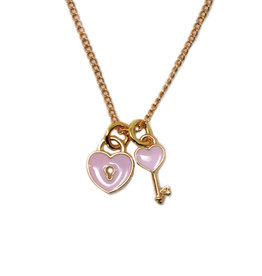 Zomi Gems Key to my Heart Necklace