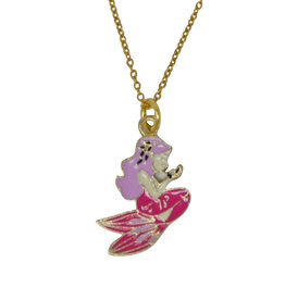 Zomi Gems Little Mermaid Necklace