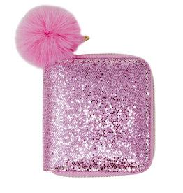 Zomi Gems Glitter Pink Wallet