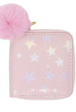 Zomi Gems Pink Shiny Star Wallet