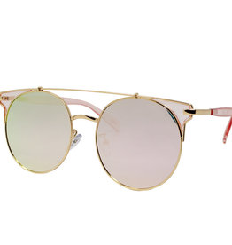 Zomi Gems Pink Cat Eye Sunglasses