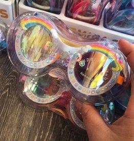 Bling2O Rainbow Good Vibes Goggles