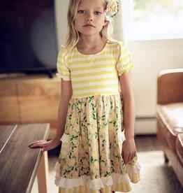 Mustard Pie Lemon Drop Maggie Dress