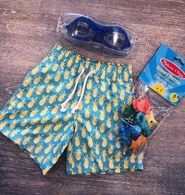 Southbound Pineapple Swim Trunks