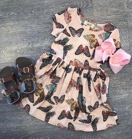 Peek Kids Candice Butterfly Dress