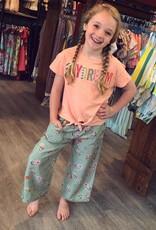 Peek Kids Jayne Floral Crop Pant