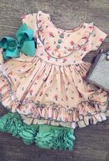 Be Girl Clothing Mint Ruffle Shorties