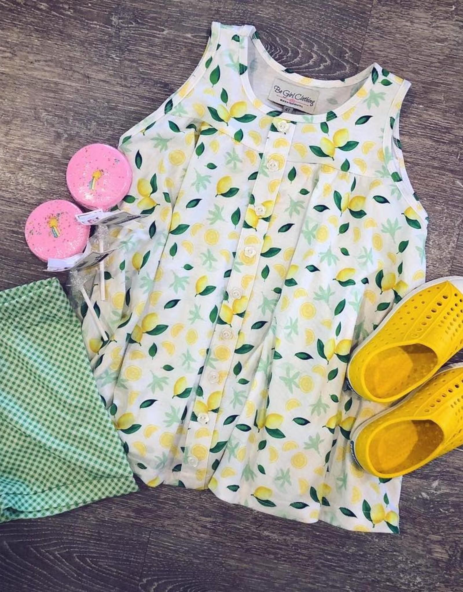 Be Girl Clothing Lemon Tunic Top