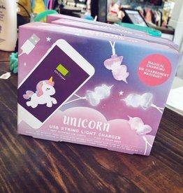 Iscream Light Up Unicorn USB Charger