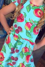 Turquoise Apple Dress