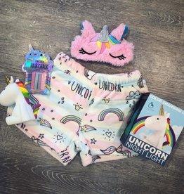 Iscream Unicorn Stripes Plush Shorts