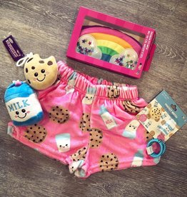 Iscream Milk and Cookie Plush Shorts