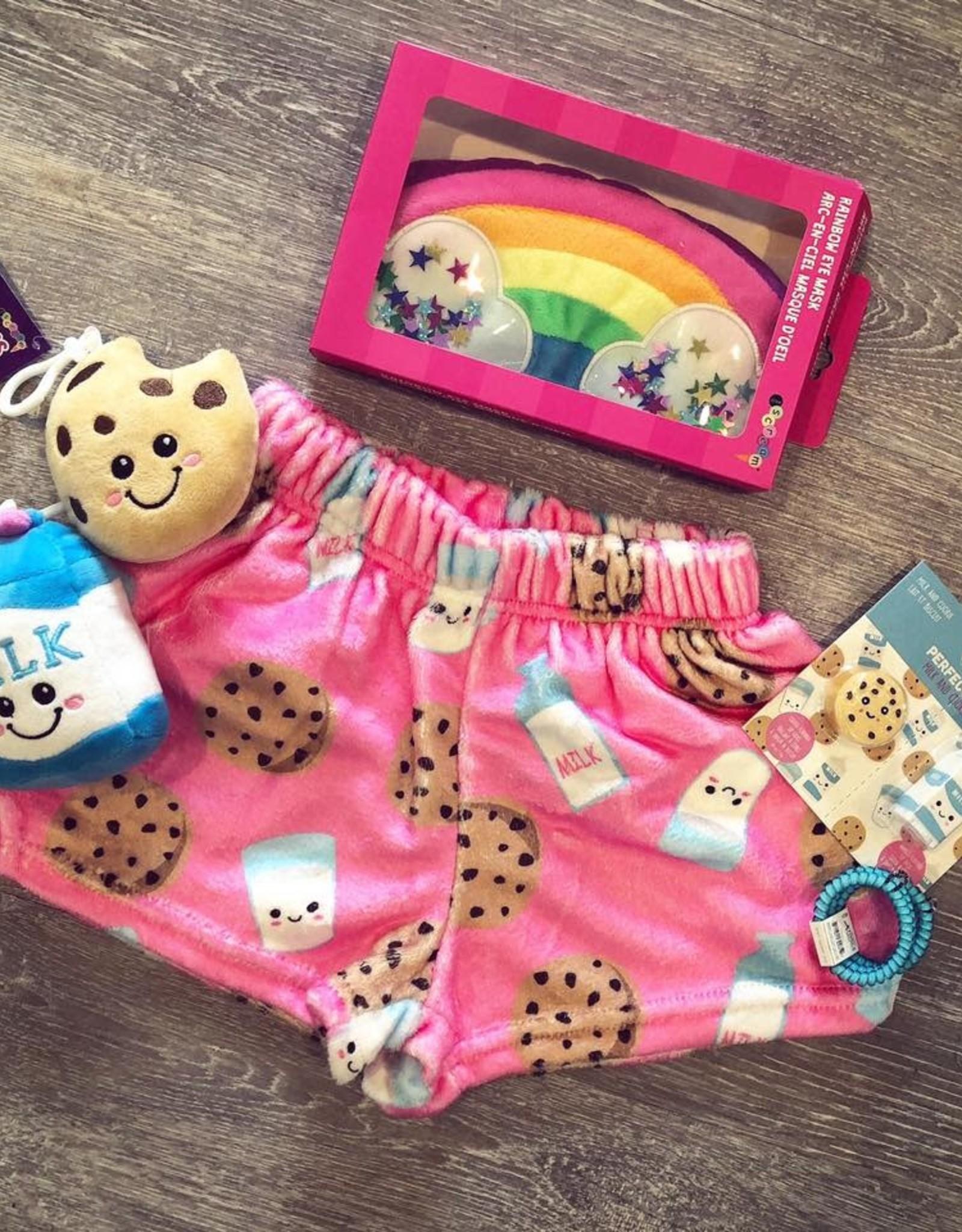 Iscream Milk and Cookie Plush Shorts