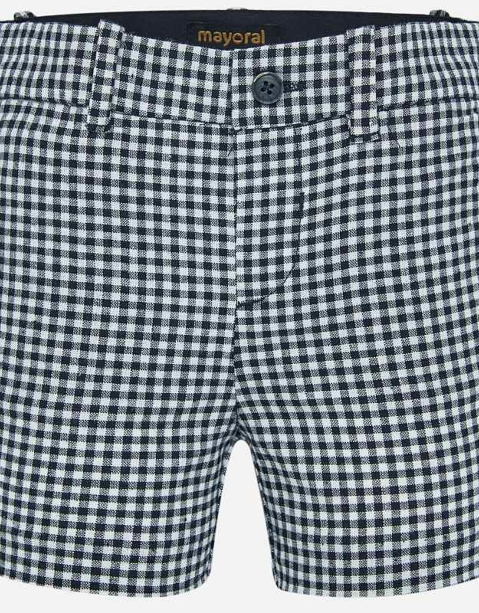 Mayoral Checked Bermuda Shorts