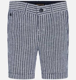 Mayoral Navy Stripe Bermuda Shorts