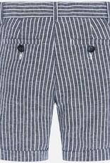 Mayoral Navy Stripe Bermuda Shorts
