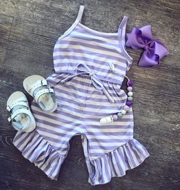 Honeydew Purple Brittany Jumpsuit