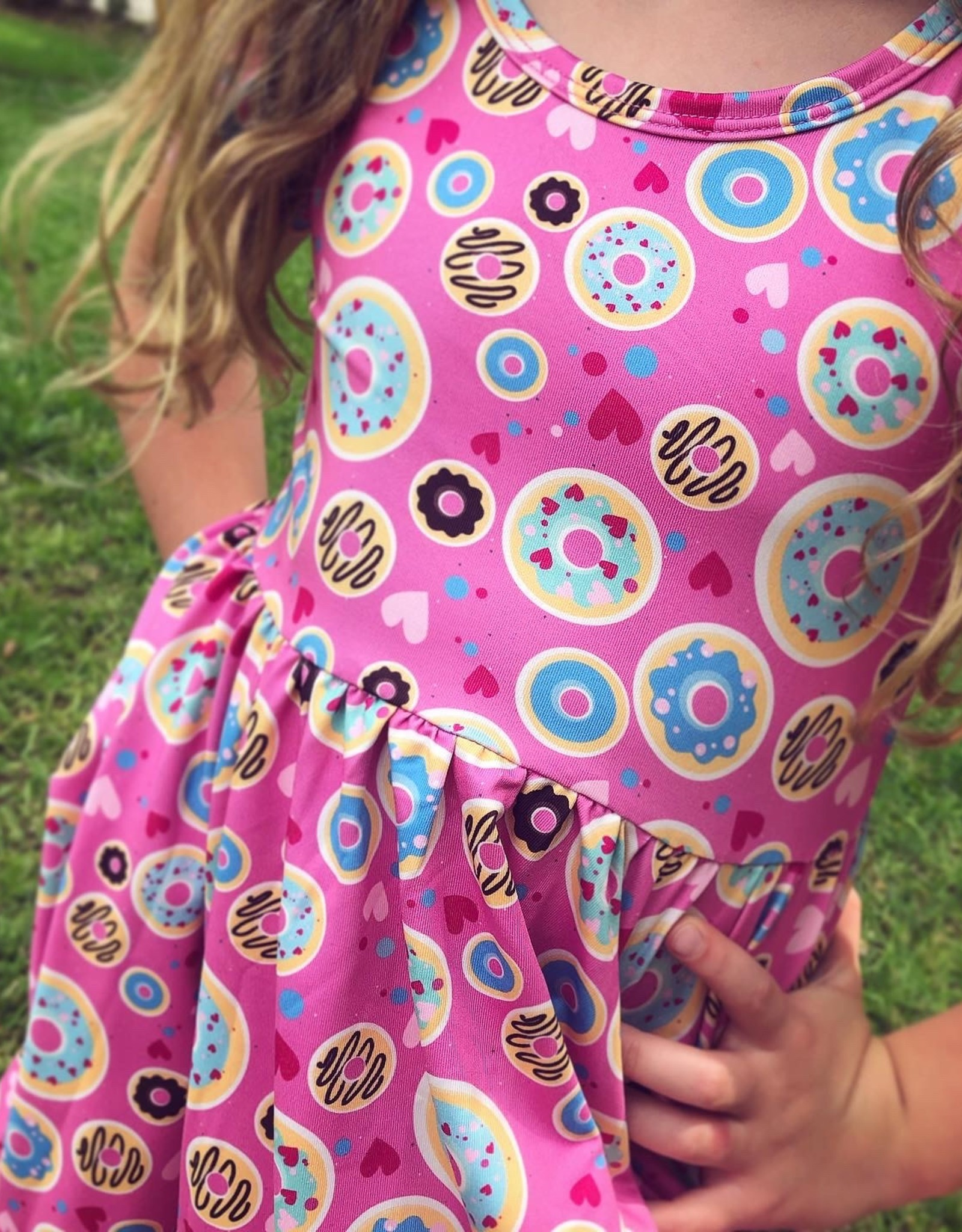Charlies Project Donut Love Hugs Collection Dress