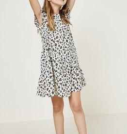 Hayden Leopard Cream Swing Dress