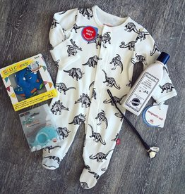Magnetic Me Babe-a-Saurus Organic Cotton Magnetic Footie