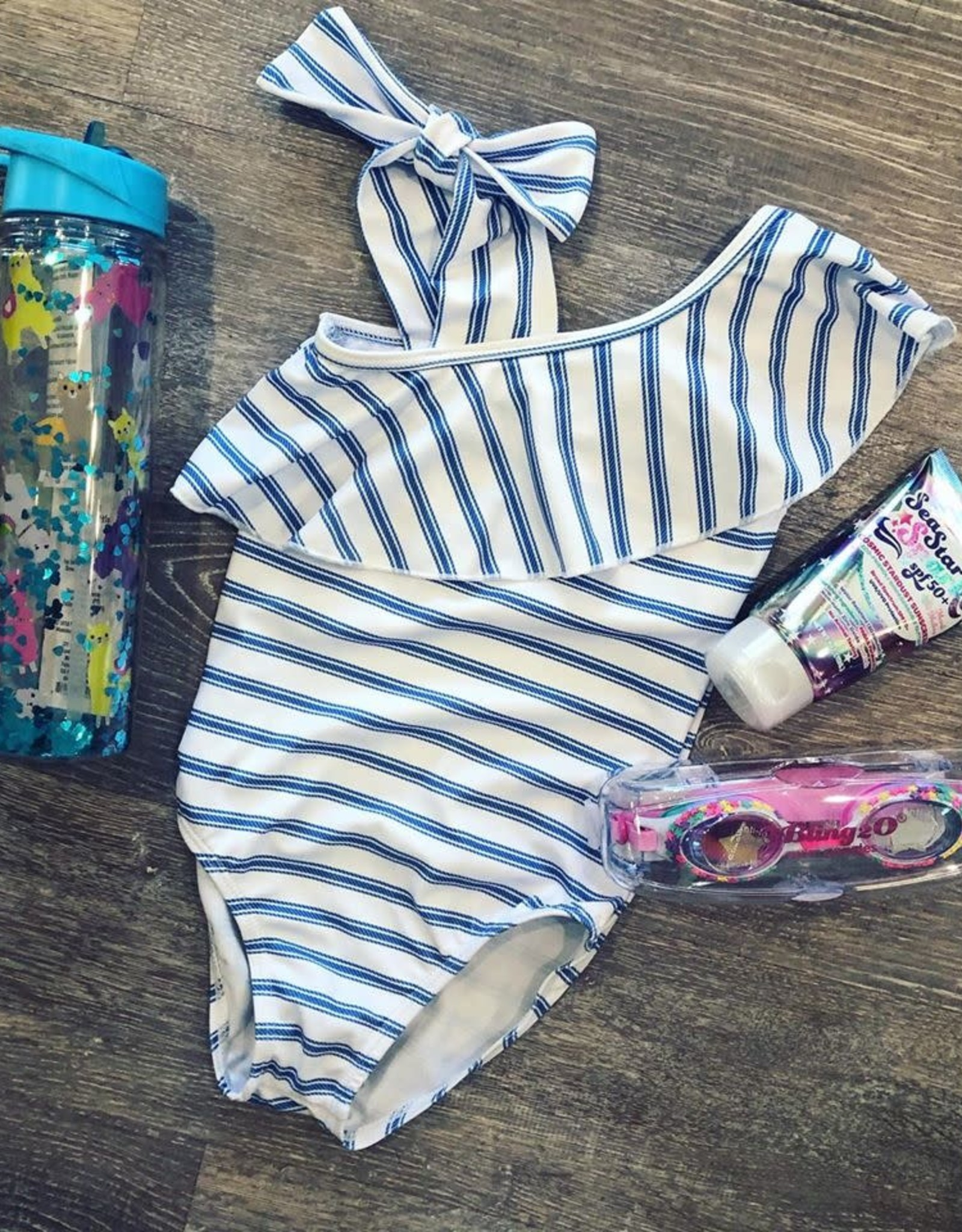 BlueBerry Bay Forget-Me-Not One Piece Swimsuit