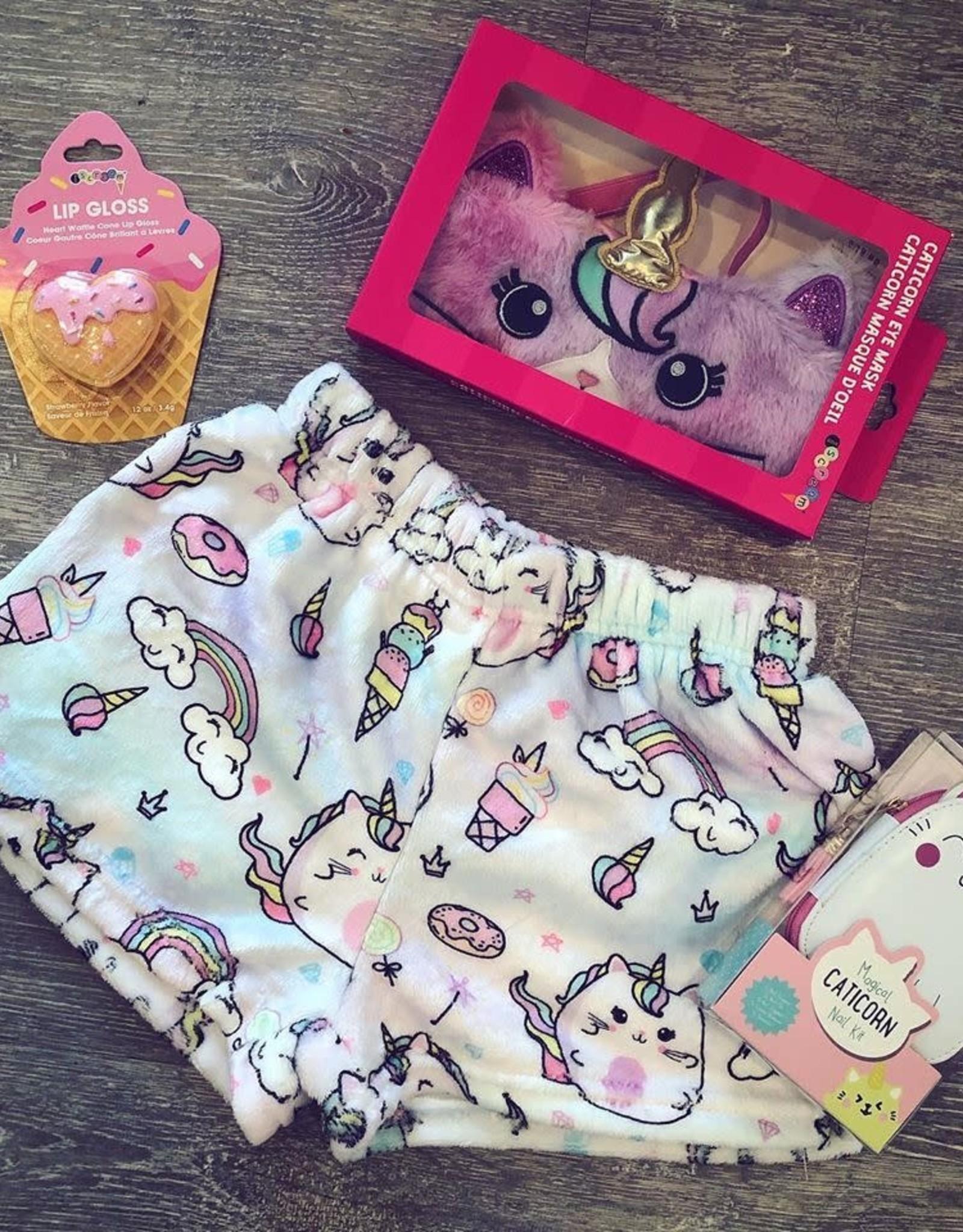 Iscream Caticorn Plush Shorts