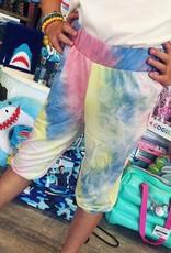 G to G Lori TieDye Cropped Pants in Rainbow