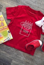 Mustard&Ketchup Kids Red Crayons T-Shirt