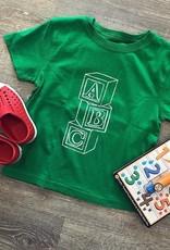 Mustard&Ketchup Kids Green ABC T-Shirt