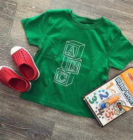 Mustard&Ketchup Kids Green ABC T-Shirt