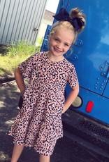 Hayden Leopard Mauve Swing Dress