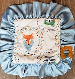 Cuddle Couture Woodland Teether Blanket
