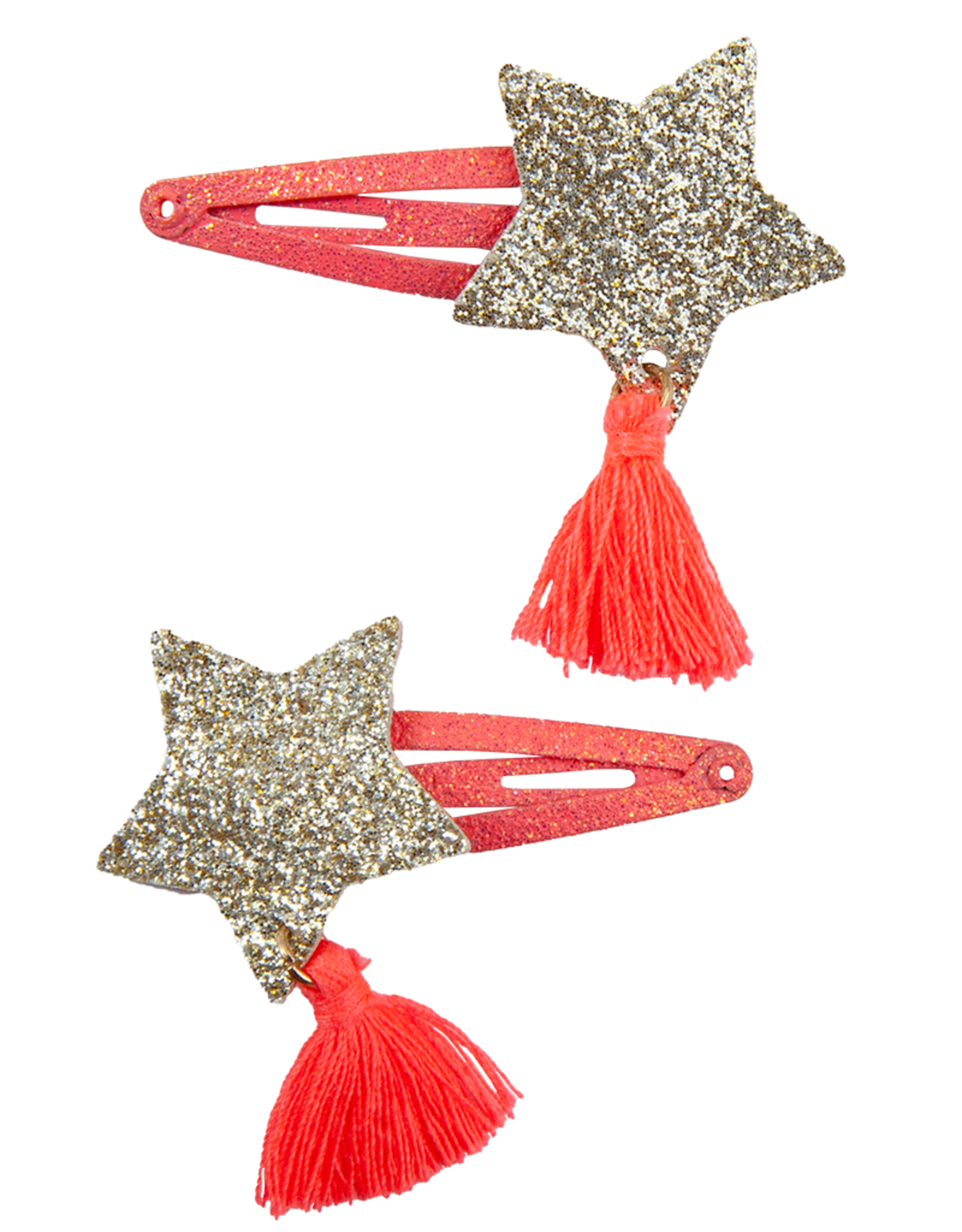 Creative Education Boutique Sassy Tassy Star Hairclips, 2 Pcs