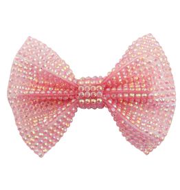 Creative Education Boutique Pink Gem Bown Hairclip