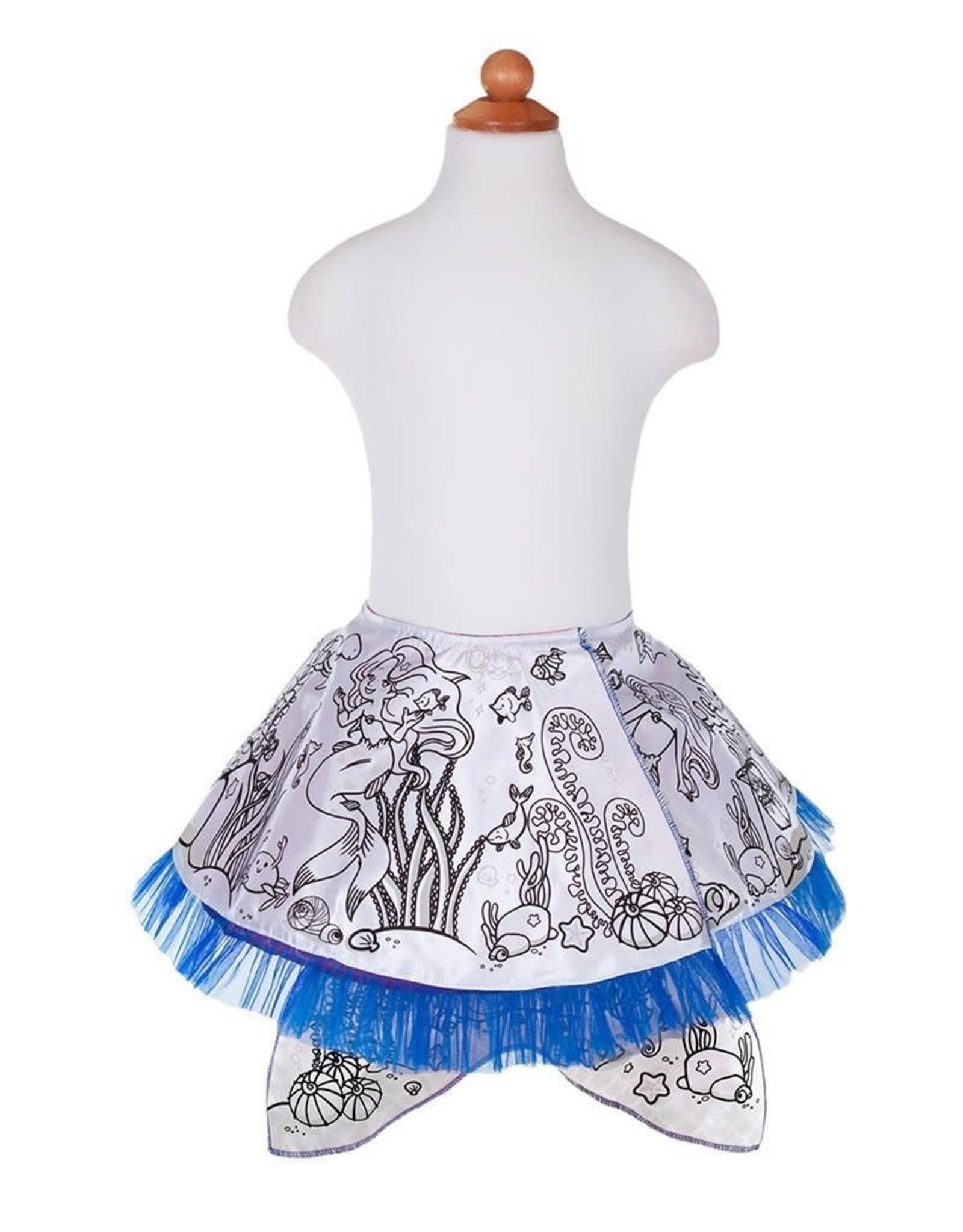 Creative Education Colour-A-Skirt Mermaid, Reversible, Size 4-6