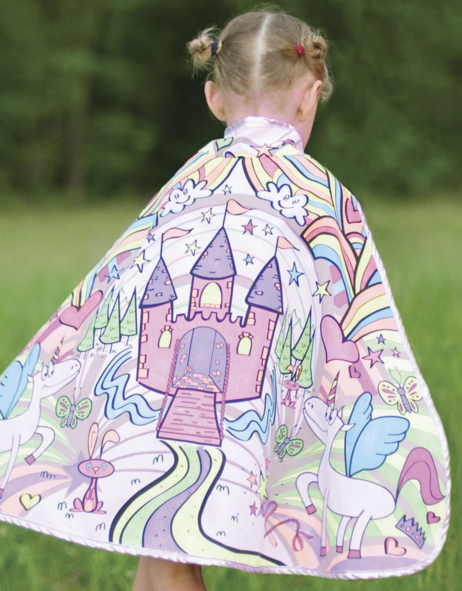 Creative Education Colour-A-Cape Princess, Size 4-7