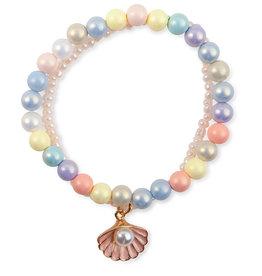 Creative Education Boutique Pastel Shell Bracelet