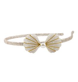 Creative Education Boutique Golden Mermaid Shell Headband