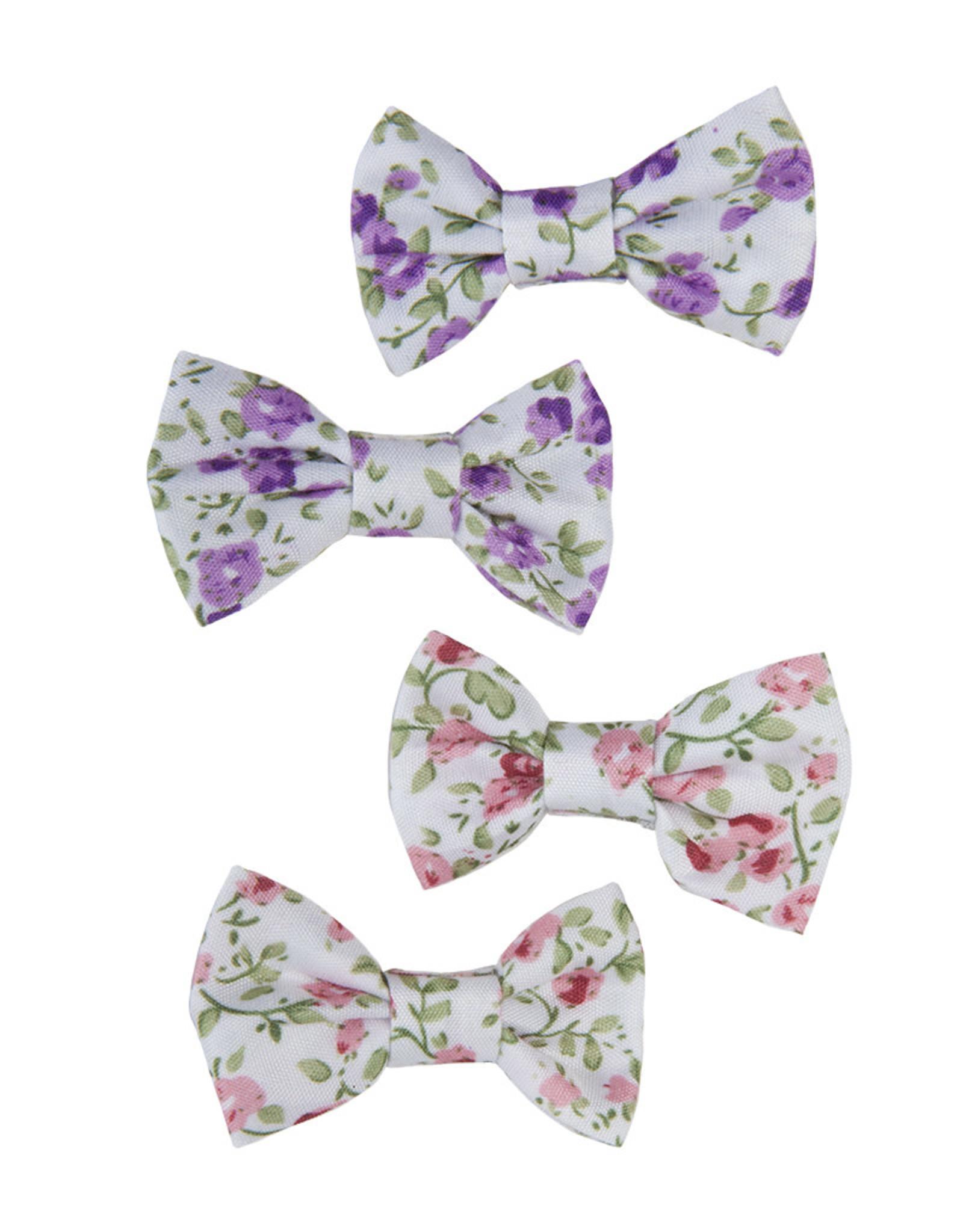 Creative Education Boutique Liberty Mini Bow Hairclips, 2 Pcs, Assorted