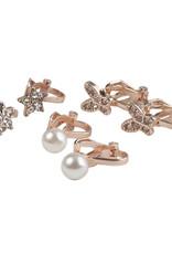Creative Education Boutique Dazzle Clip On Earrings, 3 Sets