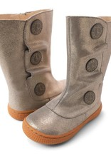 Livie and Luca Tiempo Boots in Pewter Shimmer