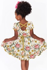 Charlies Project Wildflower Cross Back Hugs Collection Dress