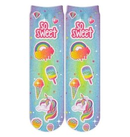 Sublime Designs So Sweet Socks(SOS) - Shoe Size 6-12