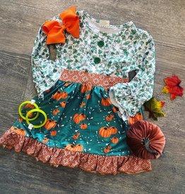 Honeydew Pumpkin Dress