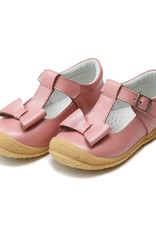L'AMOUR Emma Autumn Bow T-Strap Mary Jane in Rose