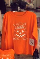Mustard&Ketchup Kids Pumpkin Candy Bucket T-Shirt